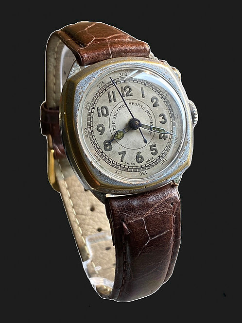 1930's Gents Centre Seconds Sports Recorder Watch/ Stopwatch