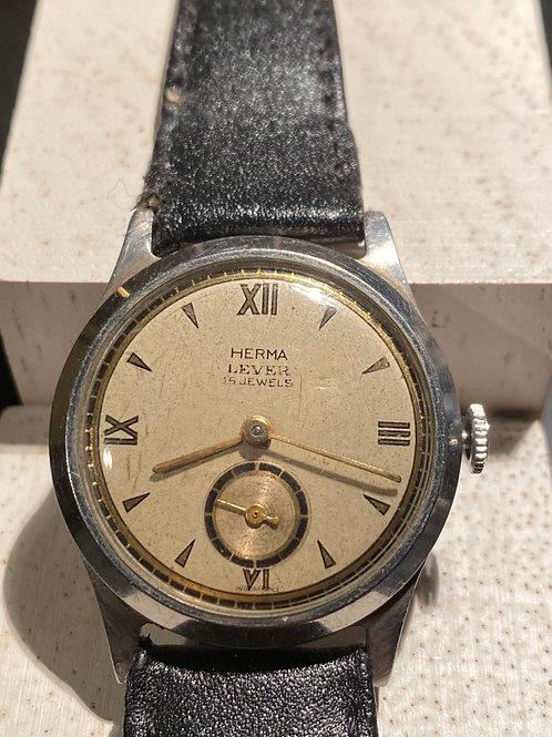 1950's Herma Gents Dress Watch