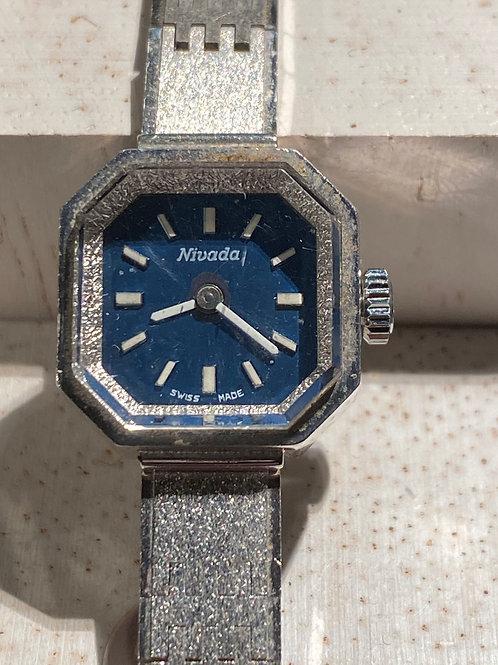 1960's Nivada Ladies Bracelet Watch