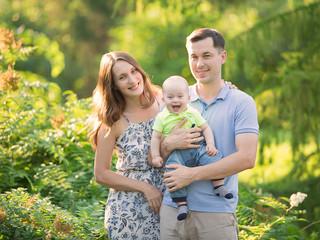 Катя и ее семья.