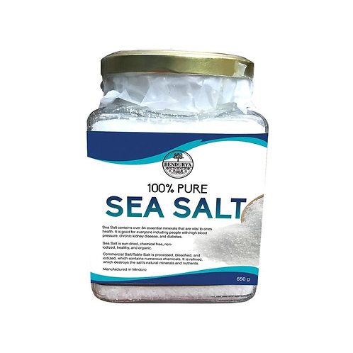 Pure Sea Salt (650g)