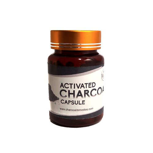 Activated Charcoal Capsule (500mg)