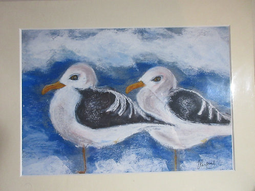 Limited edition print - Twin Gulls