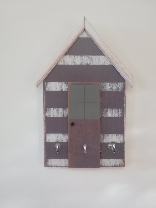 Artisan Beach hut style key holder