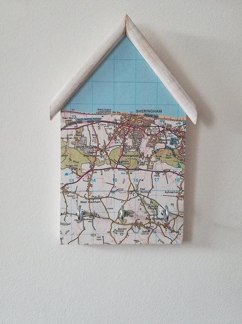 Artisan Original OS Map - Sheringham Keyholder