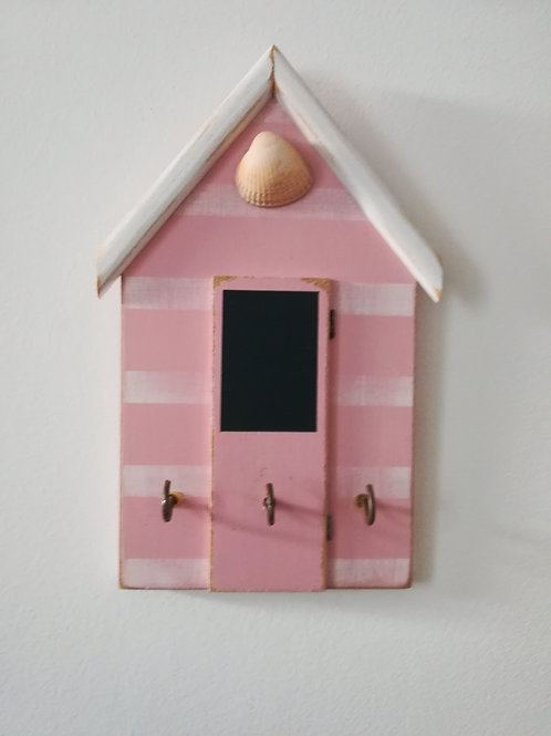 Artisan Beach hut key-holder