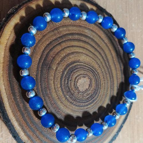 Blue Aventurine Gemstone Bracelet