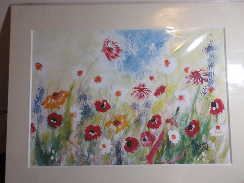 Limited edition print - Wildflowers