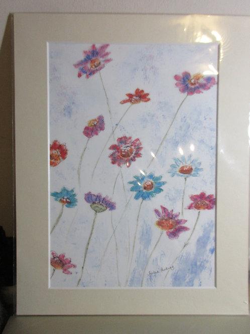 Artisan Original Watercolour painting - Daisy too
