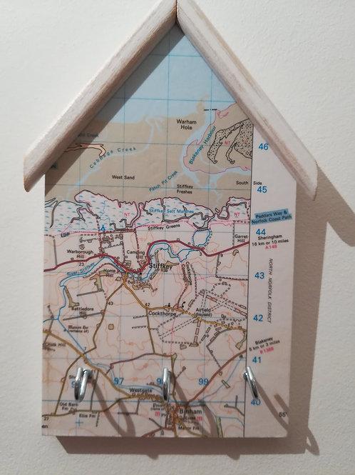 Artisan Original OS Map Keyholder - Stiffkey