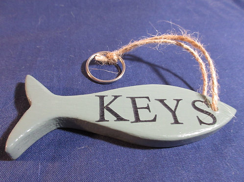 Artisan Handcrafted Fish Key ring