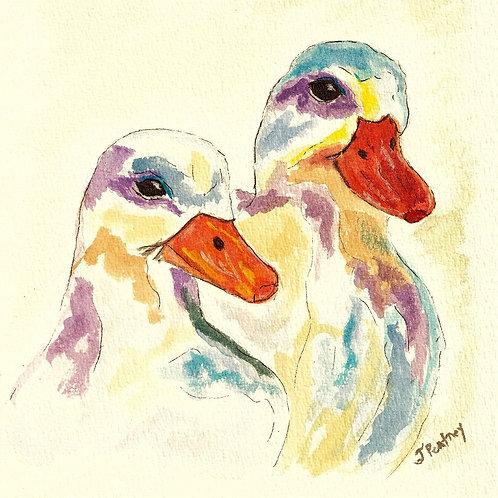 (28) Bonnie & Clyde Greeting card