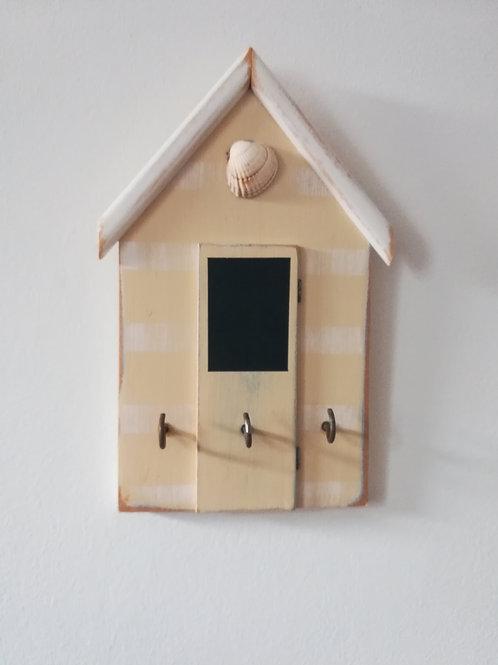 Artisan Beach Hut Keyholder