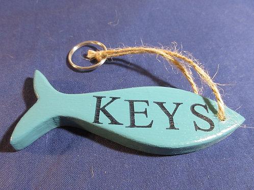 Artisan Handcrafted Fish Keyring