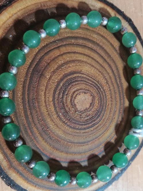 Green Aventurine Gemstone Bracelet