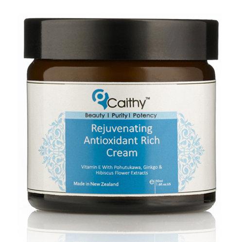 Rejuvenating Antioxidant Rich Cream