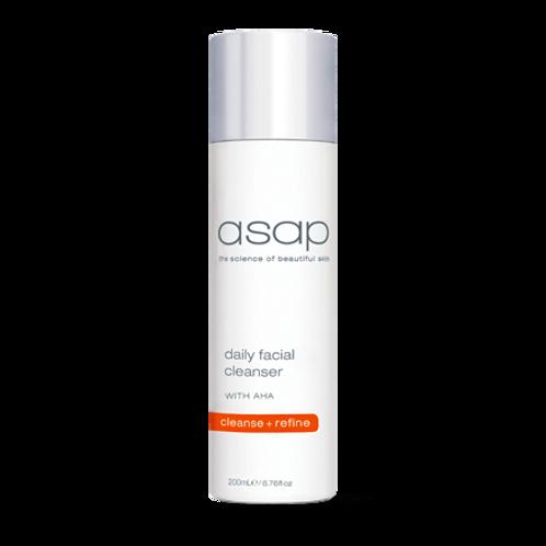 asap - daily facial cleanser