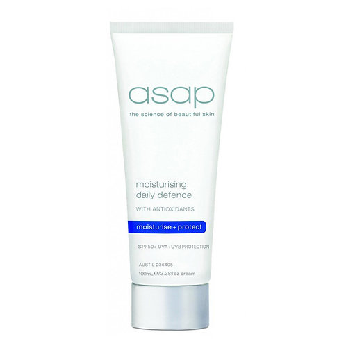 asap - moisturising daily defence with  SPF50