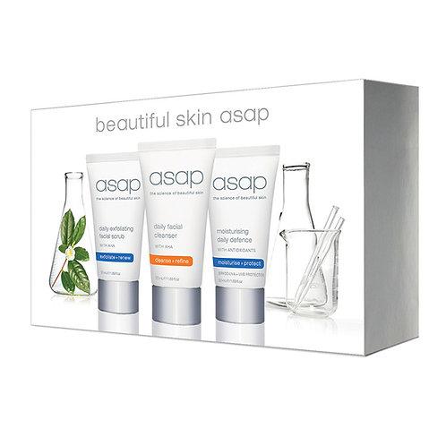 asap - beautiful skin Pack (Travel Kit)