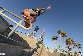 vianez Morales hitting the rail at venic