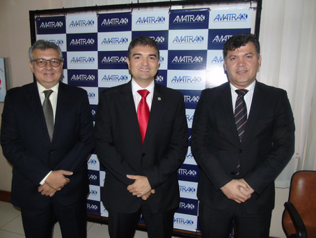 AMATRA 8 recebe visita de cortesia dos dirigentes da APEPA