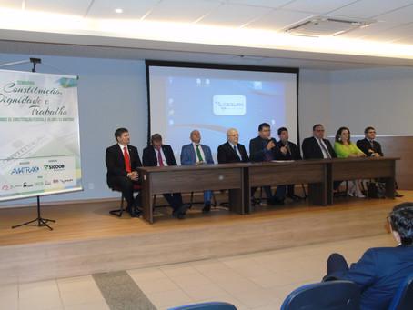 Seminário apresenta painéis sobre a eficácia constitucional e as relações trabalhistas