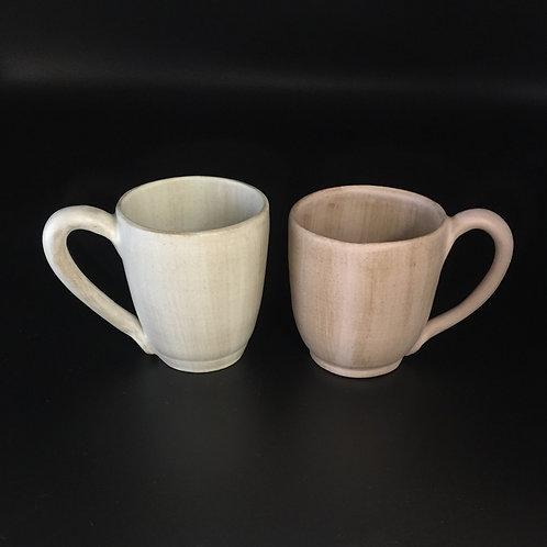 2 Petits mugs rose et vert pastel