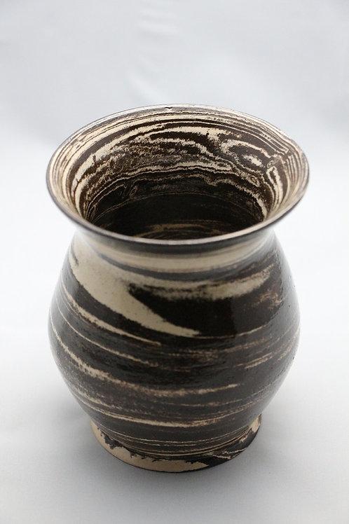 Vase Chocolat-Vanille
