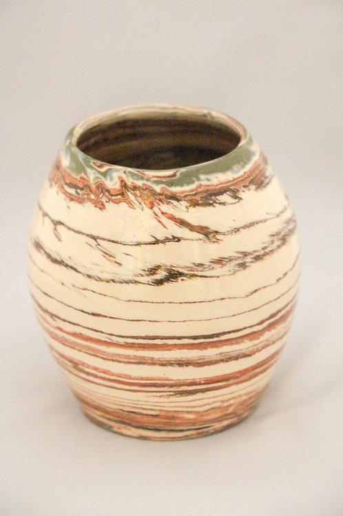 Terre Ocre Vase Rupestre