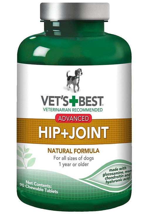 Advanced Hip and Joint Supplement 90 Tablets by Vet's Best