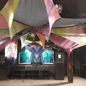 Deko Waldfrieden Events - Goa Party deko mieten