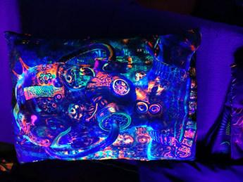 Neondruck - Schwarzlichtdruck - Druck in