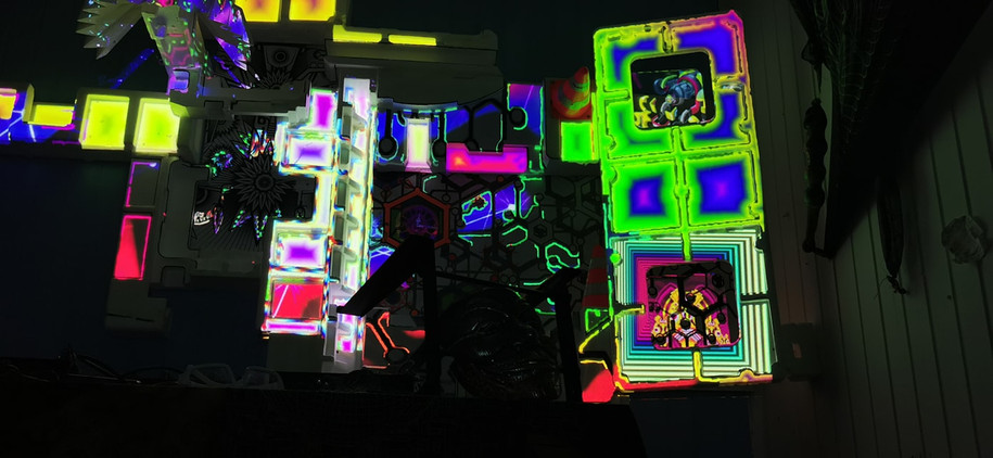 AR - Video Mapping Goa Party - Mapping G