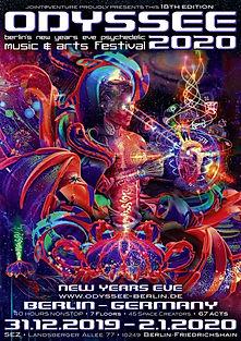 Odyssee Berlin - Dekoteam Goa Party
