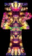 Dekoteam Goa Party - Egypt Universe by UV-Optics Hannove