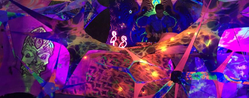 Goa Festival Dekoteam buchen - Mallorca