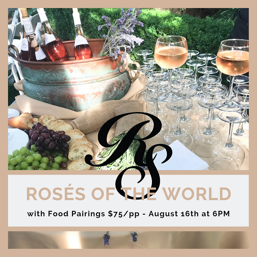 Rosé Wines of the World