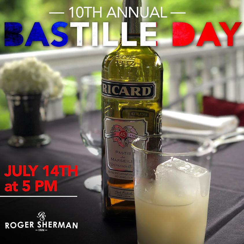 Roger Sherman Inn's 10th Annual Bastille Day