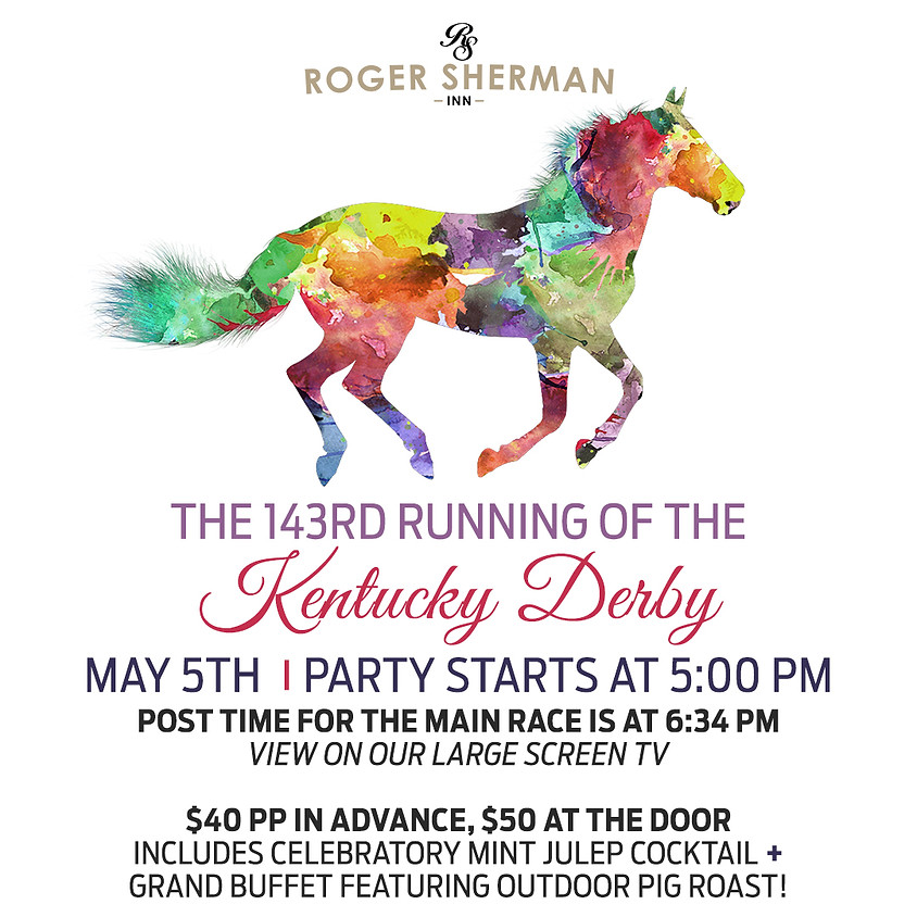 The 143rd Running of the Kentucky Derby