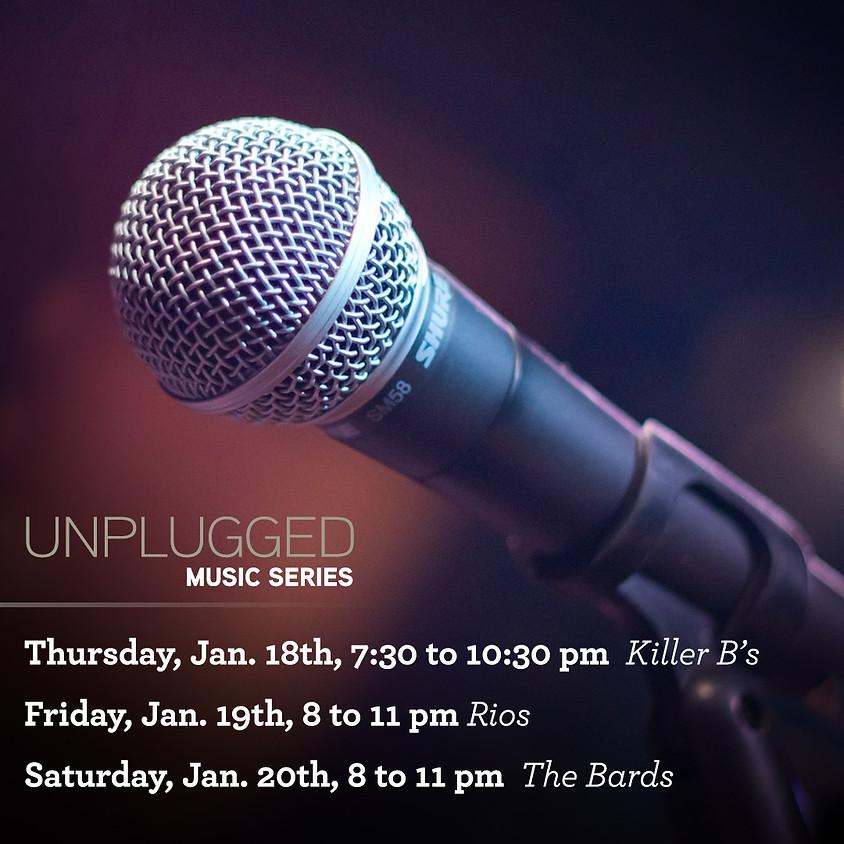 Jan. 18th-20th Unplugged Live Music Series