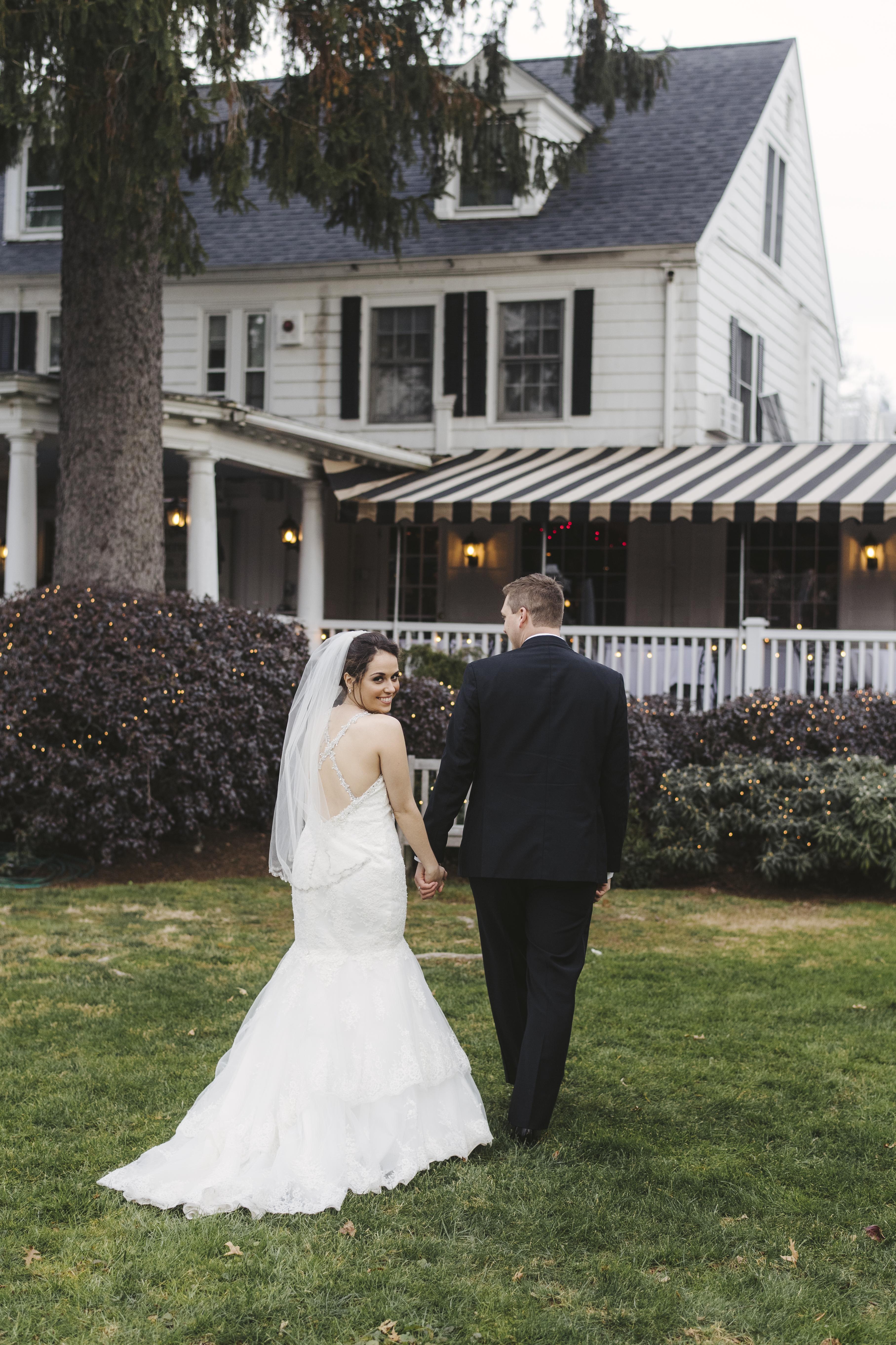 Outdoor Winter Wedding Roger Sherman