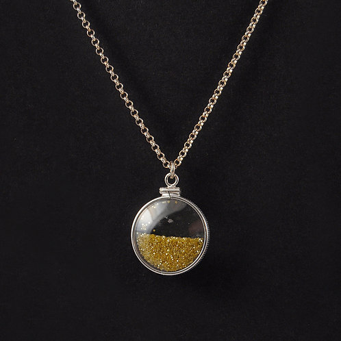 diamond dust necklace