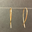 Thumbnail: 14K Small Gold Fish Earrings