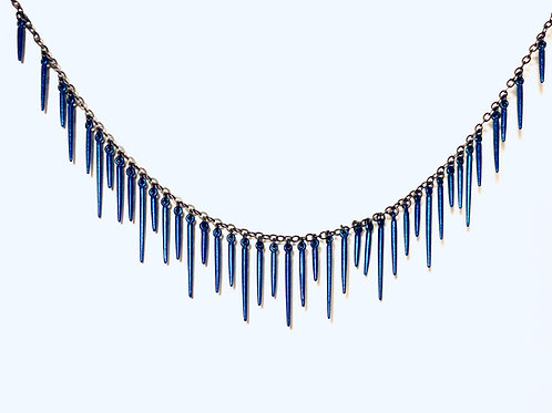 Urchin Fringe Necklace