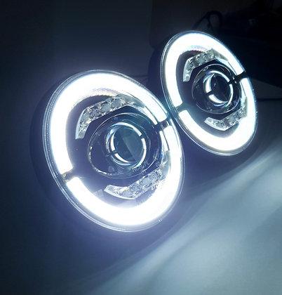 🌪️Discovery 1/2 Tornado Halo LED Headlights🌪️