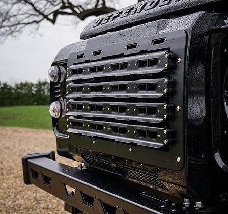Defender Stainless Steel Renegade Front Grille.