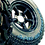 """Thumbnail: 265/75R16 Radar Renegade R7 M/t fitted/balanced on 16 x 7"""" Disco 2 Mach 5 NEG 25"""