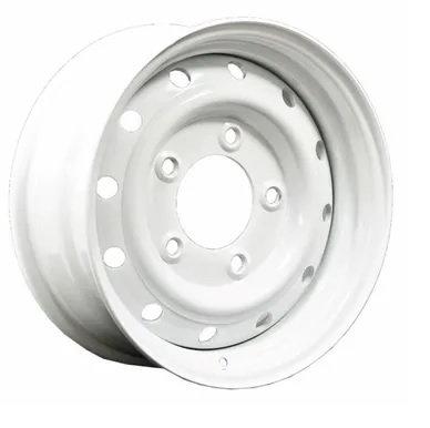Wolf 16x6.5 Positive 20 Offset White Wheel