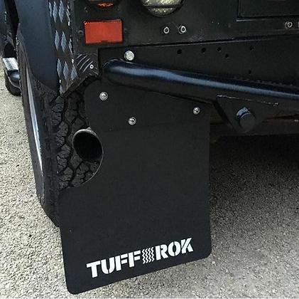 Defender 90 vehicle Mud Flaps 2007-2016  puma td5 rear only