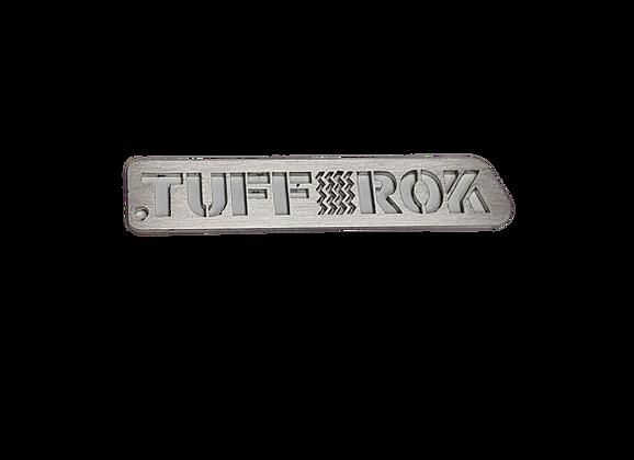 Tuff-Rok Logo Stainless Steel Keyring